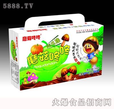 蘑菇咚咚50g南瓜饼干双色巧克力