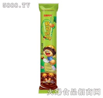 蘑菇咚咚32克X20条南瓜饼干双色巧克力味