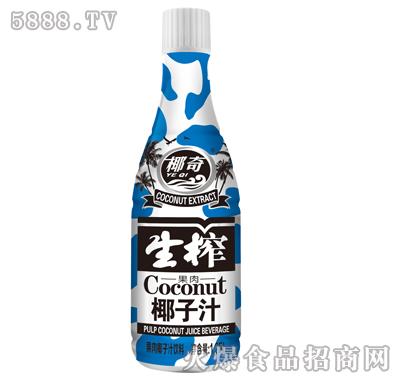 椰奇果肉生榨椰子汁饮料1.25Lx6瓶