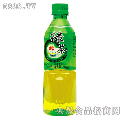 莱得旺绿茶饮料500ml