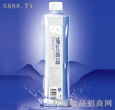 耿建想代理清江尚品饮用水公司的550ml清江尚品饮用