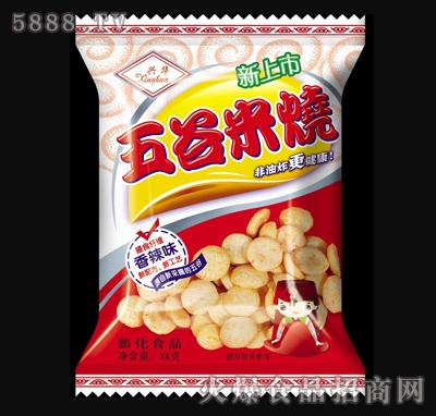 兴华五谷米烧70g香辣味