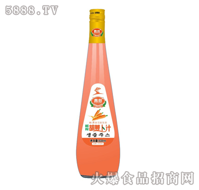 真心胡萝卜汁838ml