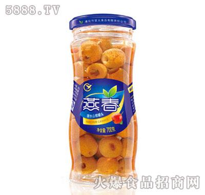 燕春700克糖水山楂罐头(专)