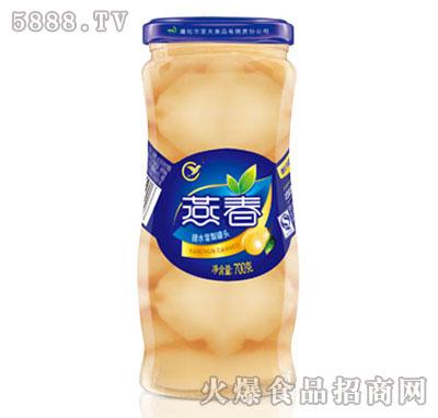 燕春700克糖水雪梨罐头(专)