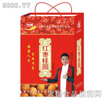 顶真红枣桂圆无蔗糖果汁饮料手提礼盒