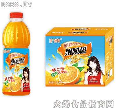 领舞果粒橙1.5L