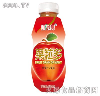 400ml领舞果粒多(苹果汁+果粒)