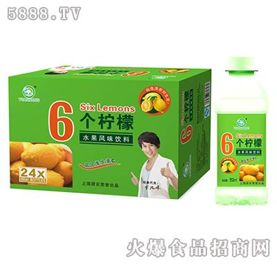 350mlx24瓶源农6个柠檬