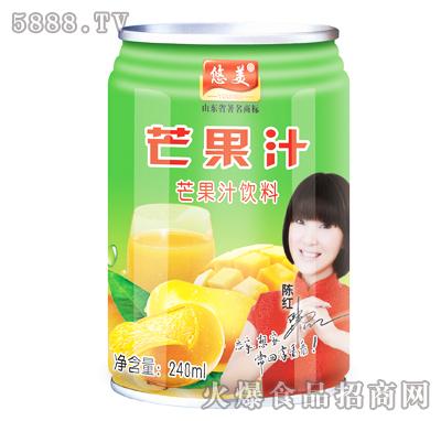 悠美芒果汁240ml