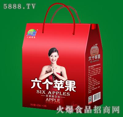 六个苹果红苹果醋礼盒428mlx8瓶