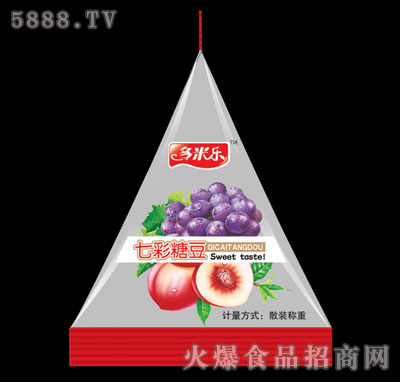 多米乐七彩糖豆