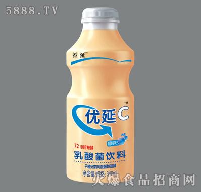 340ml优延C乳酸菌饮料(原味)