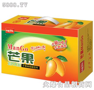 芒果味碳酸饮料箱