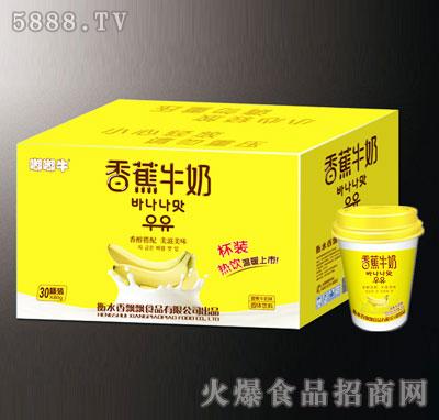 嘟嘟牛香蕉奶茶80gx30杯