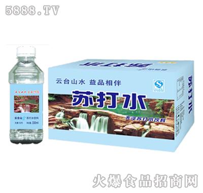 益品堂苏打水330mlx24瓶
