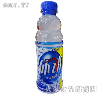 途乐体动维生素饮料柠檬味600ml