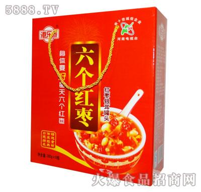 港乐园六个红枣红枣银耳罐头礼盒