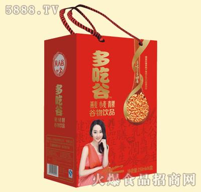 多吃谷谷物饮品250mlx16盒(燕麦、小麦、青稞)