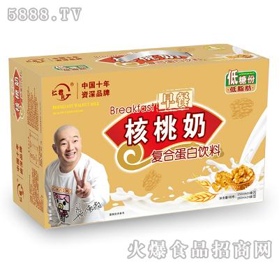 仁君高钙早餐核桃奶250mlX24盒