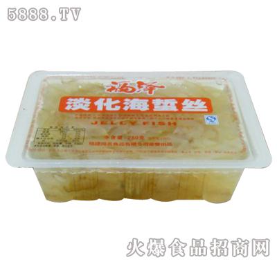 福泽淡化海蜇丝280gx18杯产品图