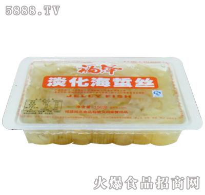 福泽淡化海蜇丝150gx30杯产品图
