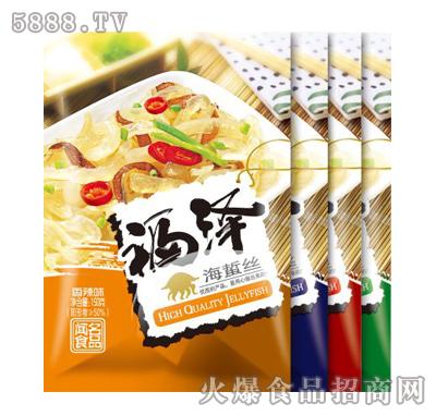 福泽海蜇丝150gx30包产品图