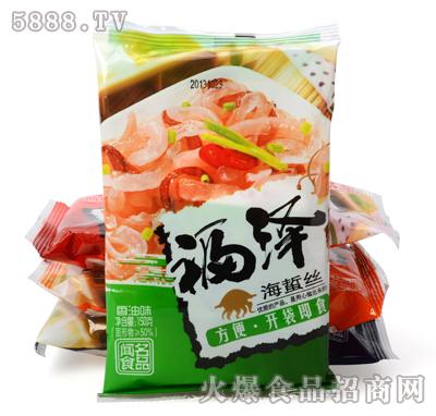 福泽海蜇丝香油味150g产品图