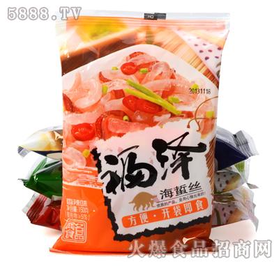 福泽海蜇丝香辣味150g产品图