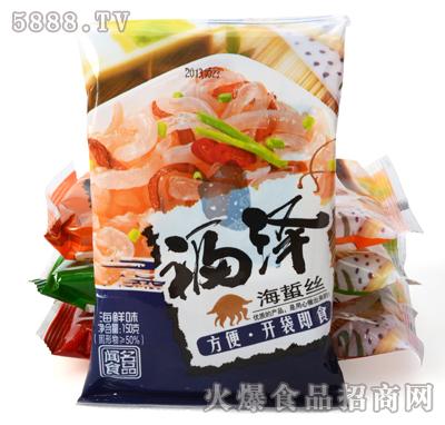 福泽海蜇丝海鲜味150g产品图