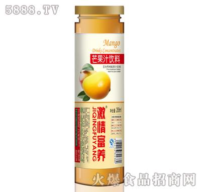 激情富养268ml芒果汁