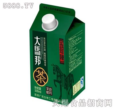 大马邦500ml五年陈云南普洱茶果醋