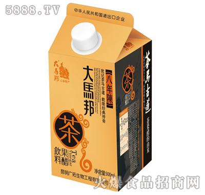 大马邦500ml八年陈云南普洱茶果醋
