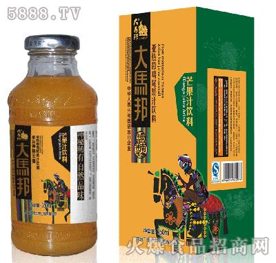 大马邦350ml芒果汁
