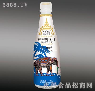 1.25L泰希泰式鲜榨椰子汁