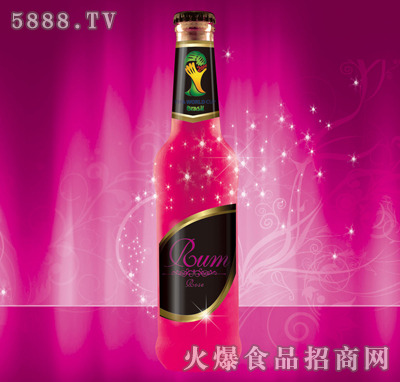 韩元素朗姆酒(玫瑰味)