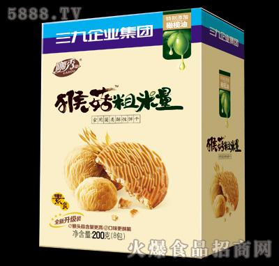 200g猴菇粗粮食用菌类酥性饼干