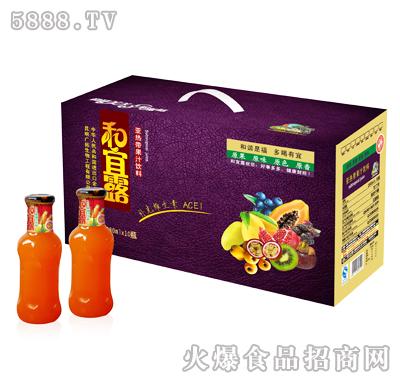 280mlx10瓶和宜露亚热带果汁礼箱