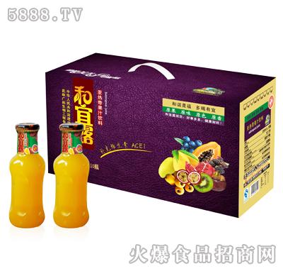 280mlx10瓶和宜露亚热带果汁饮料礼箱