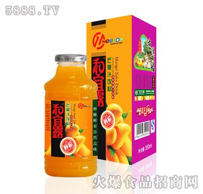 350ml和宜露芒果汁