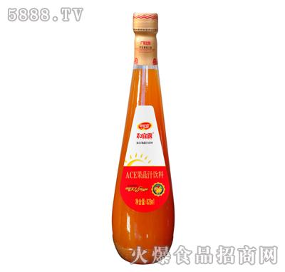 828ml和宜露ACE果蔬汁饮料