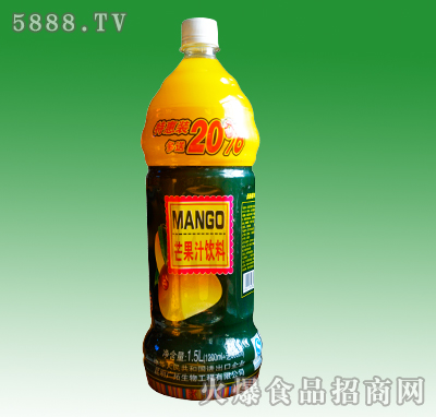 大马邦芒果汁饮料1.5L