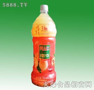 大马邦冰蜜桃汁饮料1.5L
