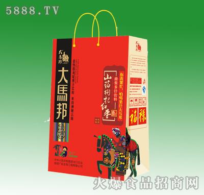 大马邦山药枸杞红枣饮料手提袋