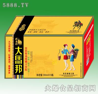 大马邦亚热带鸡尾果汁饮料280mlX15