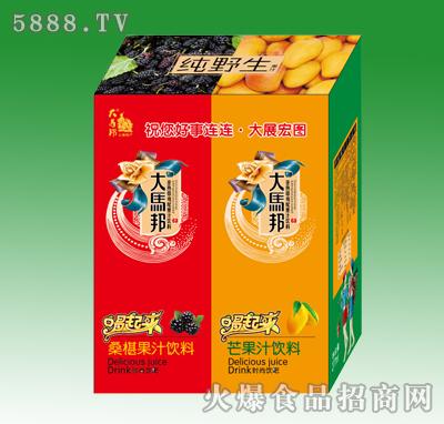 大马邦桑葚芒果汁混合装277ml