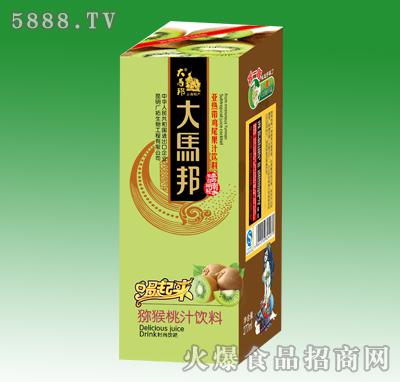 大马邦猕猴桃汁饮料277ml单盒装