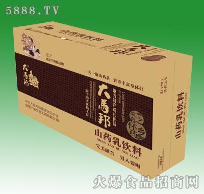 大马邦山药乳饮料258ml箱装
