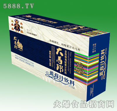 大马邦蓝莓汁饮料258ml箱装