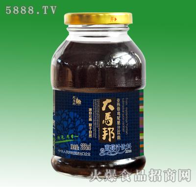大马邦蓝莓汁饮料258ml